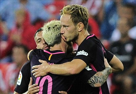 Rakitic heads Barca past Athletic