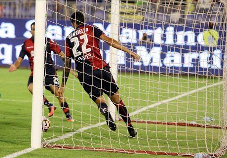 Roma, che spreco: a Cagliari è 2-2