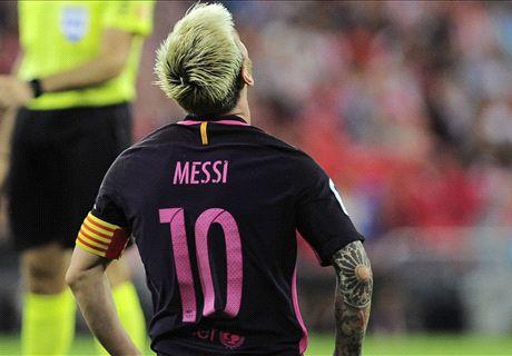Le Barça confirme la blessure de Messi