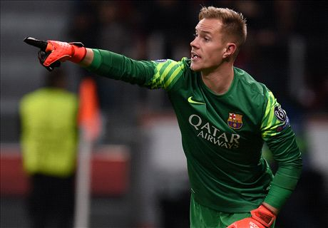 Ter Stegen breaks Liga passing record