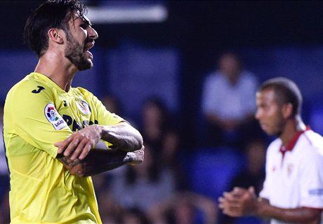 El Villarreal se topa con Sergio Rico (0-0)