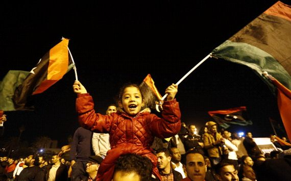 Libyans celebrate CHAN victory