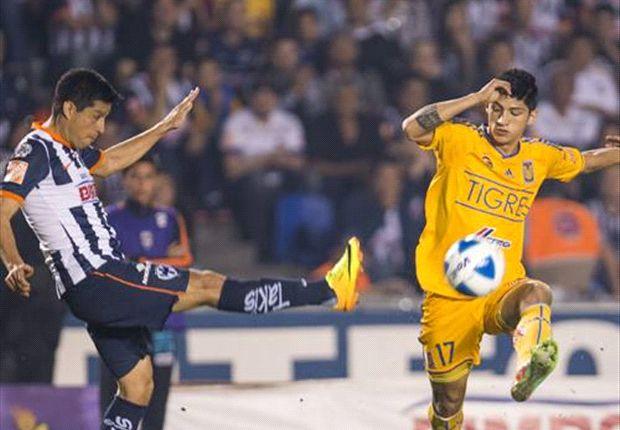Liga Bancomer MX: Monterrey 0-0 Tigres l No se hacen daño