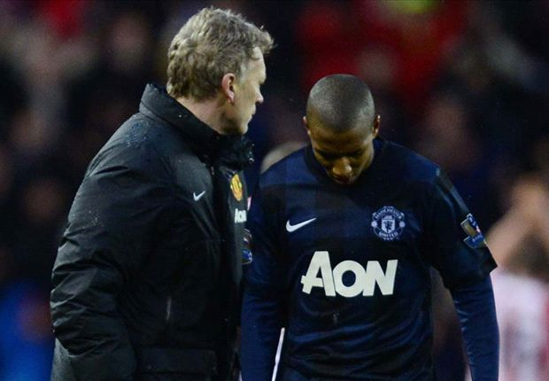 Ashley Young: Poor finishing cost Manchester United at Stoke