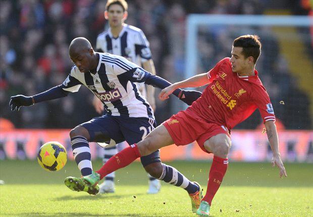 Victor Anichebe Paksa Liverpool Bermain Imbang