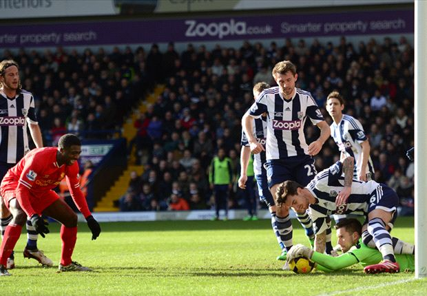 West Brom 1-1 Liverpool: Toure blunder costs visitors