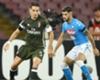 Bonaventura in azione durante Napoli-Milan