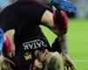 Messi viaja con Argentina a pesar de sus molestias