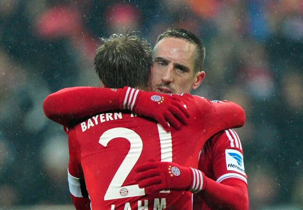 Ribery: Domestic dominance will boost Bayern's Champions League hopes