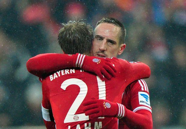 Gegen Frankfurt glänzte Franck Ribery mit Vorlage und Tor