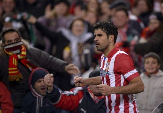 Diego Costa, Feghouli y Rubén Castro, en el Once Ideal de la Jornada 22