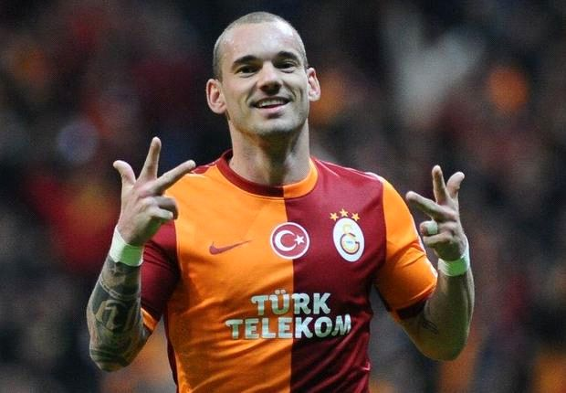 Sneijder: Mourinho past can help Galatasaray