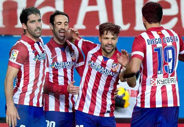 Atletico display title mettle as Barcelona and Madrid slip up