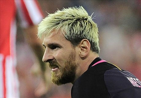 Barca confirm Messi hamstring injury