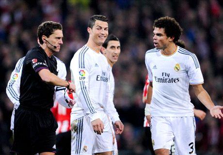'Ronaldo red card was unfair'