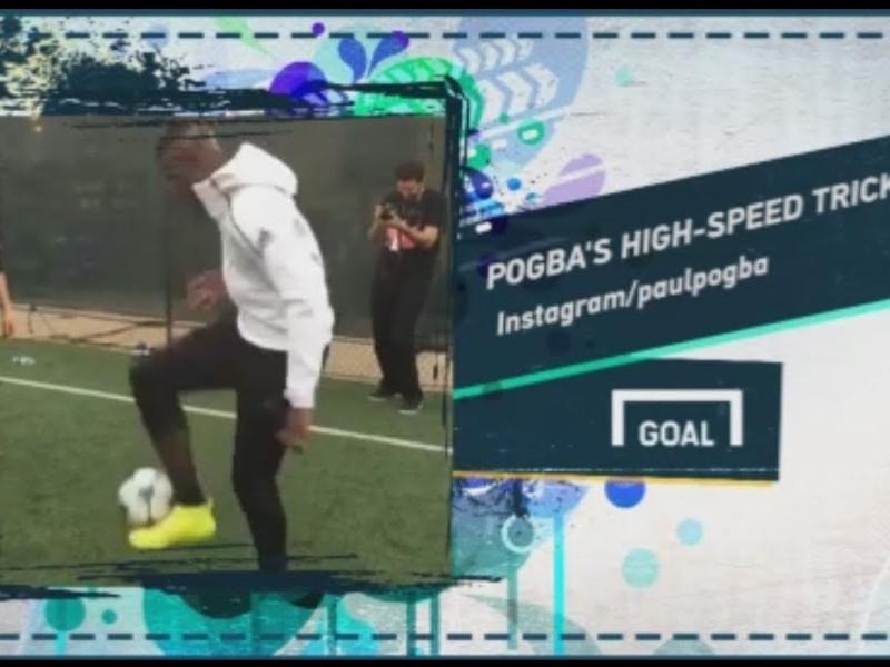 VIDÉO - Pogba, Isco et un but insolite dans le Social Snap du jour