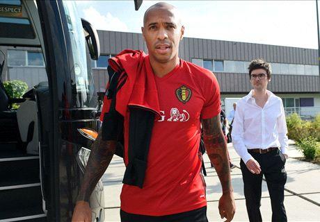 Thierry Henry, déjà comme chez lui en Belgique