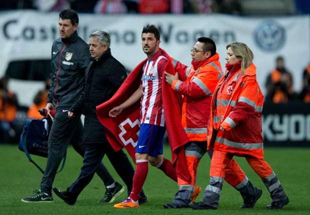 Courtois & Villa to miss Madrid Copa clash