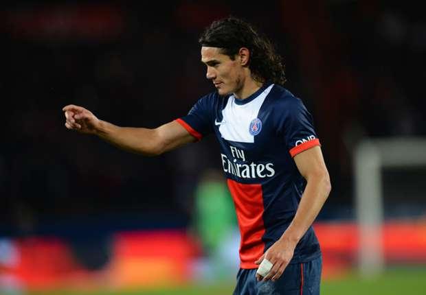 PSG striker Cavani to miss Monaco clash, says Blanc