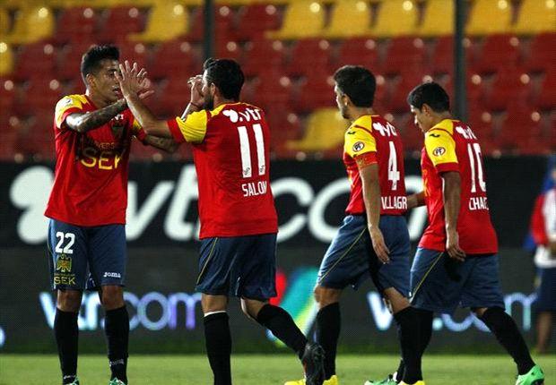 Unión Española consiguió un valioso empate en Ecuador.