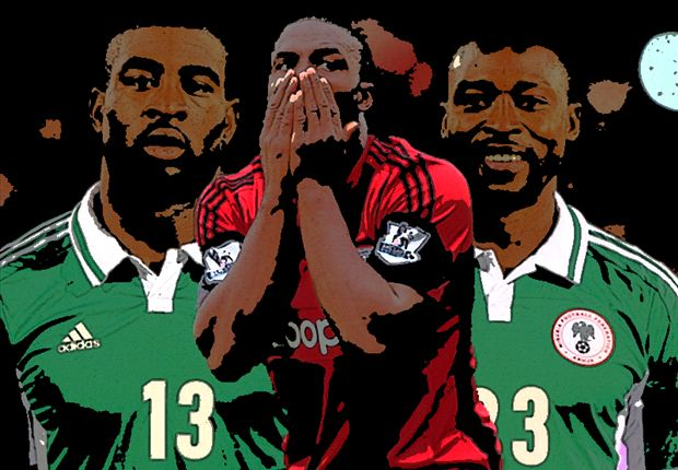Ameobi, Dike, Anichebe: Who should be Keshi's Plan B?