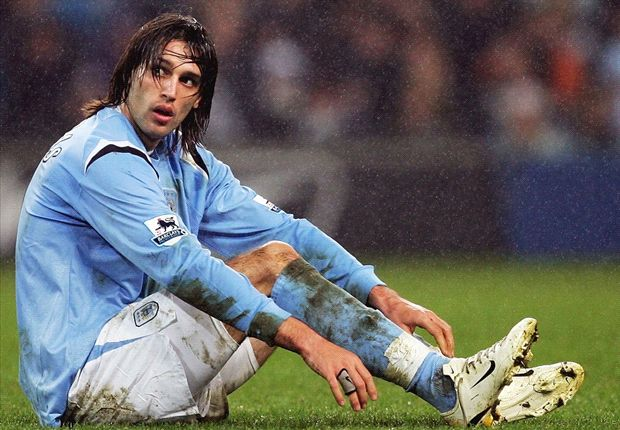 Greek striker Samaras failed to thrive during his time at Manchester City.