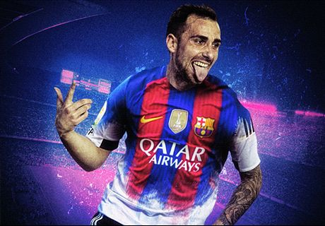 OFFICIAL: Barca sign €30m Alcacer