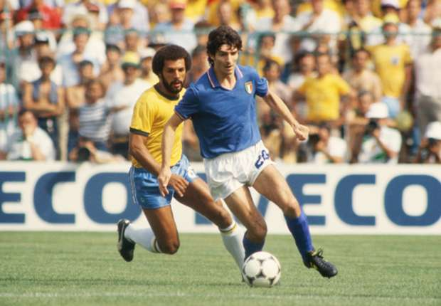 Your favorite World Cup moments: Paolo Rossi's hat trick kills off Brazil