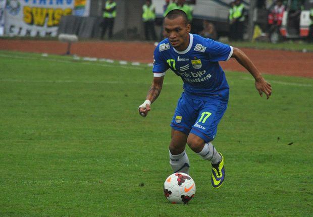 Ferdinand Sinaga senang bisa cetak gol bersama Persib Bandung