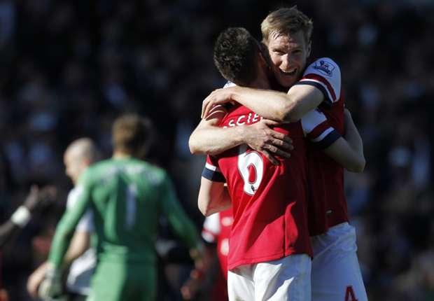 Arsenal's Mertesacker relishing Koscielny partnership
