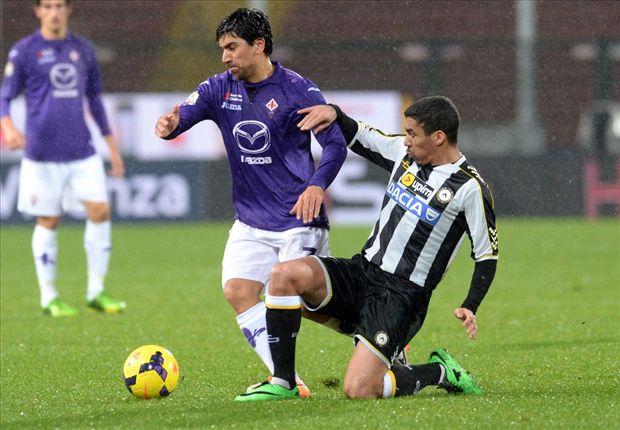 Das Hinspiel konnte Udine mit 2:1 für sich entscheiden