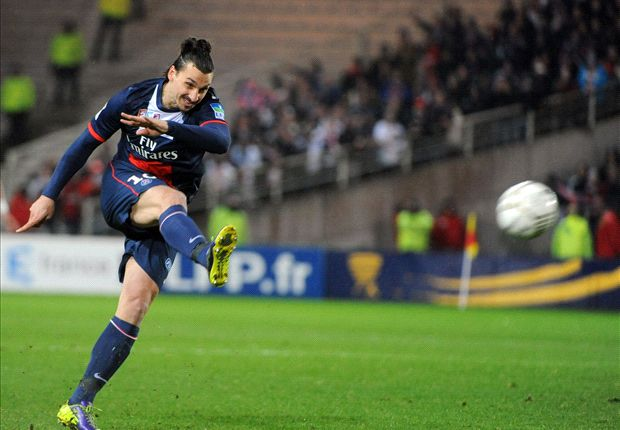 Nantes 1-2 Paris Saint-Germain: Last-gasp Ibrahimovic propels Parisiens to Coupe de la Ligue final