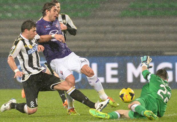 Udinese 2-1 Fiorentina: Muriel gives Zebrette crucial Coppa Italia advantage