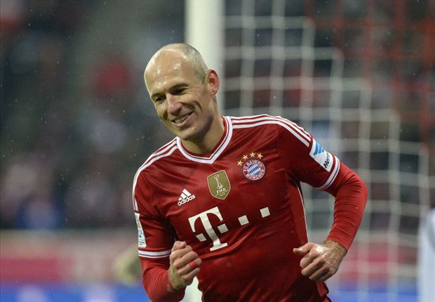Bayern Munich-Arsenal Goalscorer Preview: Wing-king Robben can shoot down the Gunners