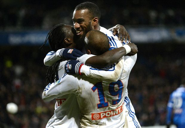 Olympique Lyonnais 2-1 Troyes: Lacazette and Gomis seal final date with PSG
