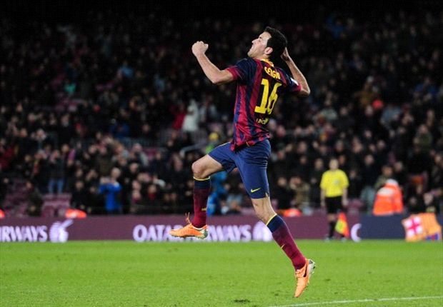 Busquets: Job not done for Barcelona