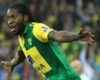Dieumerci Mbokani, in action for Norwich City