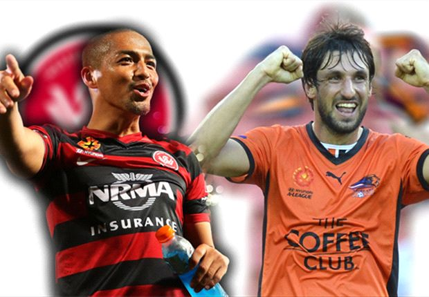 Thomas Broich and Shinji Ono go head-to-head in Parramatta