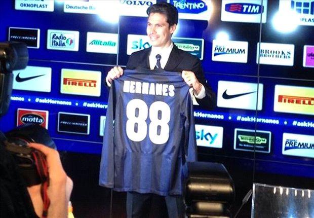 Hernanes: Inter a step forward
