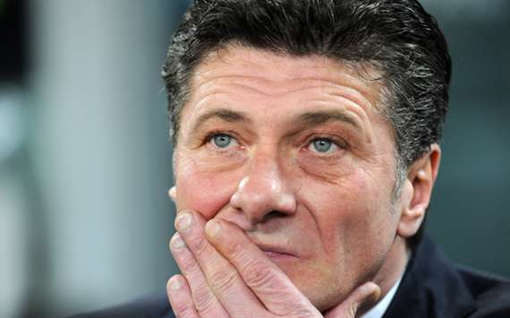 Inter Milan head coach Walter Mazzarri