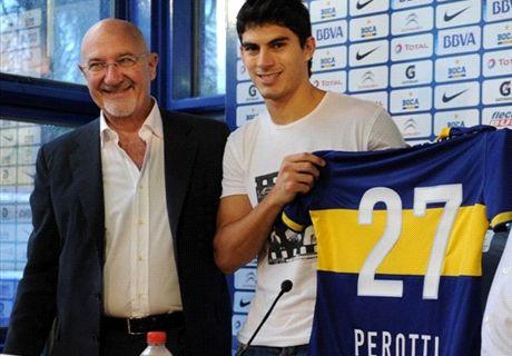 Perotti quiere volver a Boca