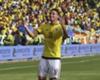 El partido de James ante Bolivia