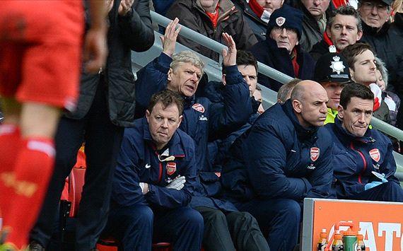 Arsene Wenger Liverpool Arsenal Premier League