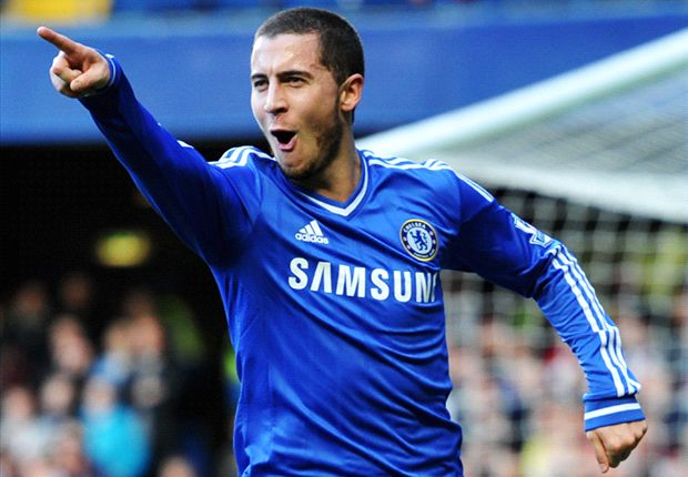 Hazard sets sights on Premier League & Champions League glory with Chelsea