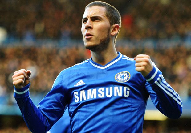 Look away now Chelsea fans - Hazard in PSG shirt