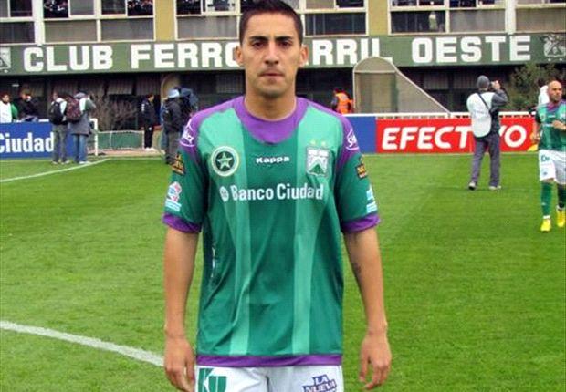 """Correa fue el goleador de Ferro en la primera rueda de la """"B"""" Nacional."""