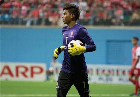 Kiper Singapura Tatap Piala AFF 2016