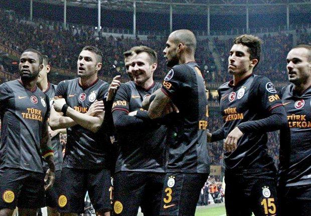 Galatasaray konnte den Rückstand auf die Spitze verkürzen