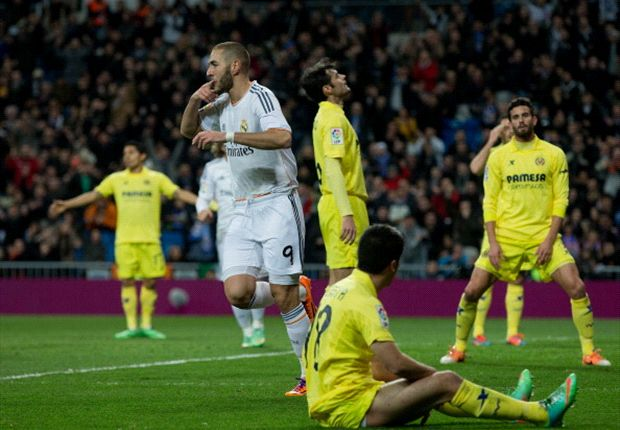 Seru, Real Madrid Amankan Tiga Angka Atas Villarreal