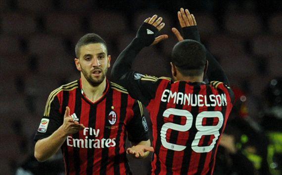 Adel Taarabt Napoli Milan Serie A 02082014